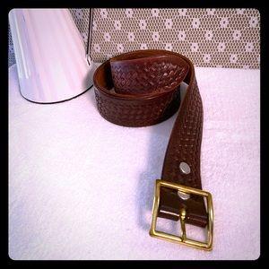 Tex Shoemaker & Son Men's Belt